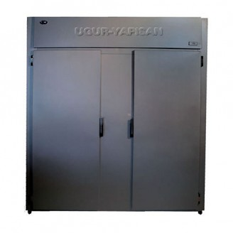 Dulap congelator vertical cu doua usi alaturate - INOX