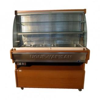 Vitrina frigorifica cu geamuri glisante - 1,50 m