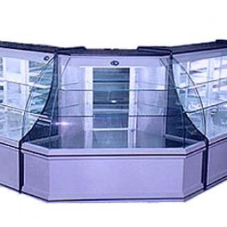 Coltar frigorific pentru vitrina orizontala de mezeluri - EXTERN